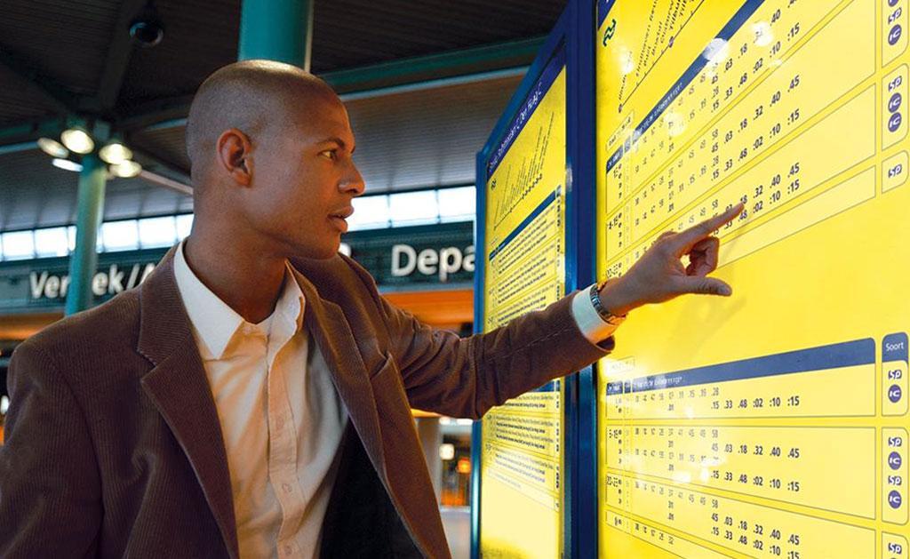 Ontwikkeling van eennieuwe concept Digitale Vertrekstaat voor Nederlandse Spoorwegen