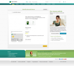 Goede feedback over stappenproces - nieuwe website ABN AMRO