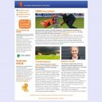 Nieuwsbrief Koninklijke Nederlandse Cricket Bond