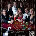 'Welcome to the fabulous ZAC Vegas!' - Zomer Avond Competitie, Poster met Call-to-Action