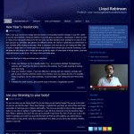 website Lloyd Robinson Massagepraktijk